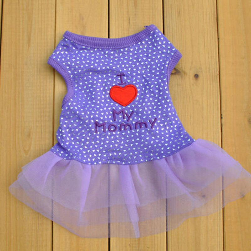 Female-Pet-Dog-Cat-Tutu-Dress-Lace-Skirt-Small-Puppy-Princess-Clothes-New thumbnail 10