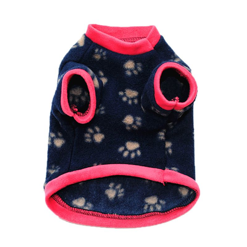 Pet-Dog-Warm-Winter-Fleece-Coat-Puppy-Clothes-Sweater-Vest-Jackets-Costume-XS-L thumbnail 11